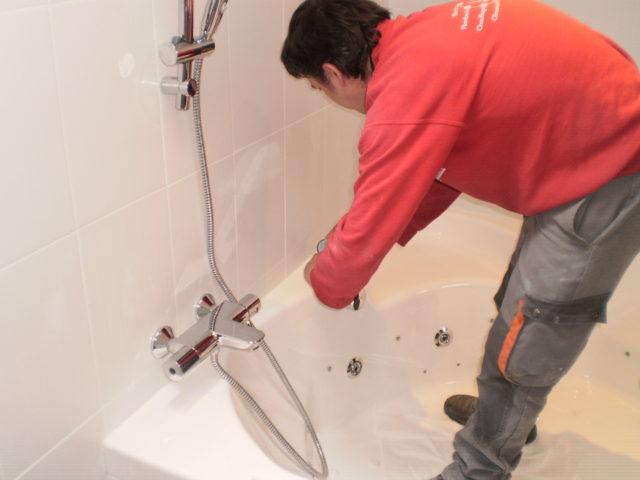 Pose de salle de bain Charente
