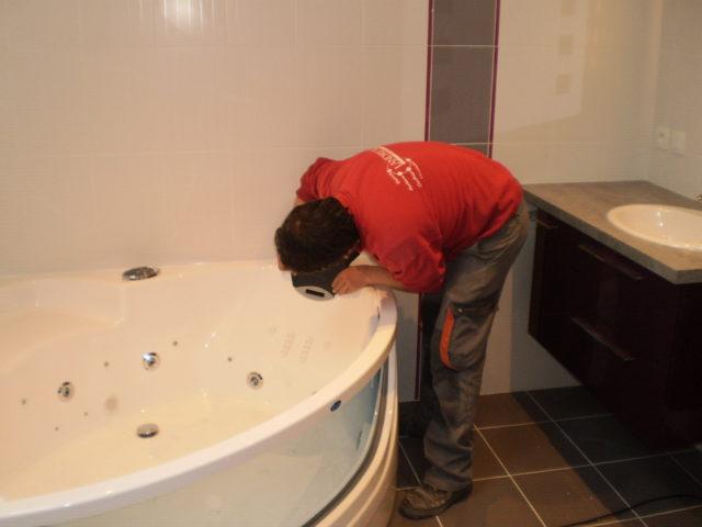 Pose de salle de bain Niort
