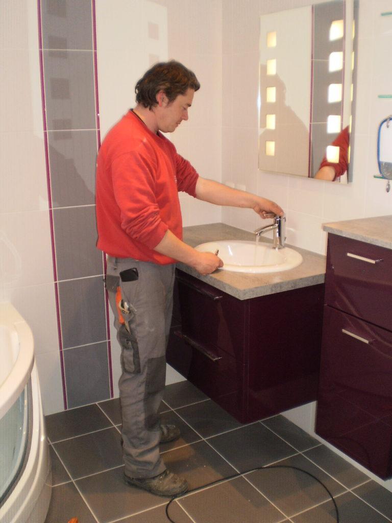 Pose de salle de bain Poitiers