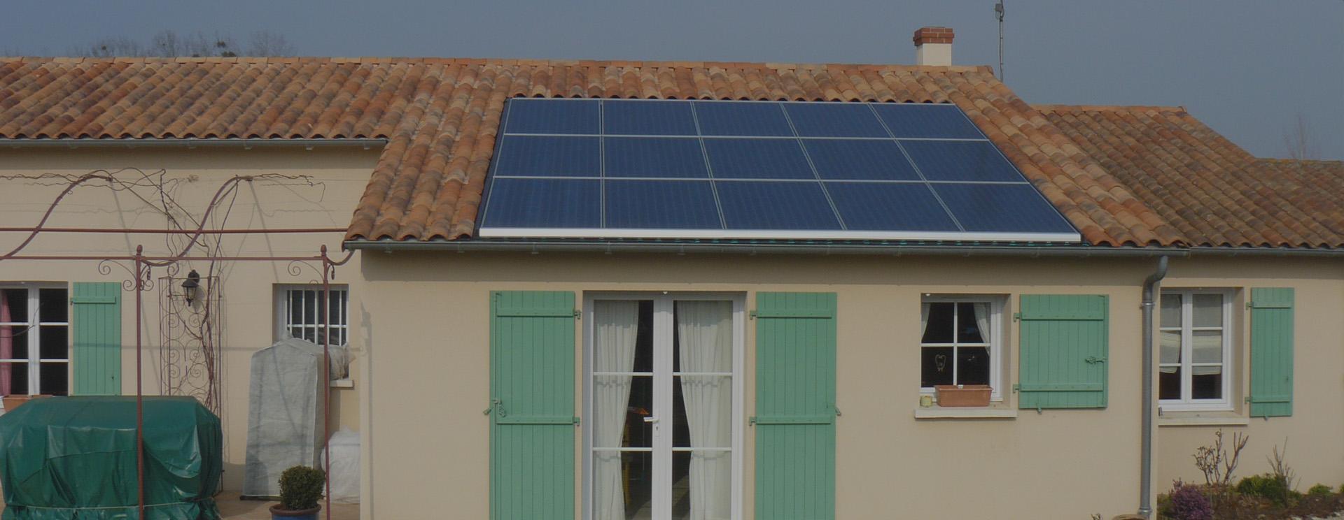 Photovoltaique solaire pompe chaleur poitiers