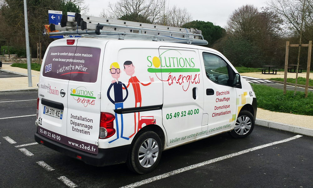 Coordonnées de Solutions Energies à Poitiers et Loudun
